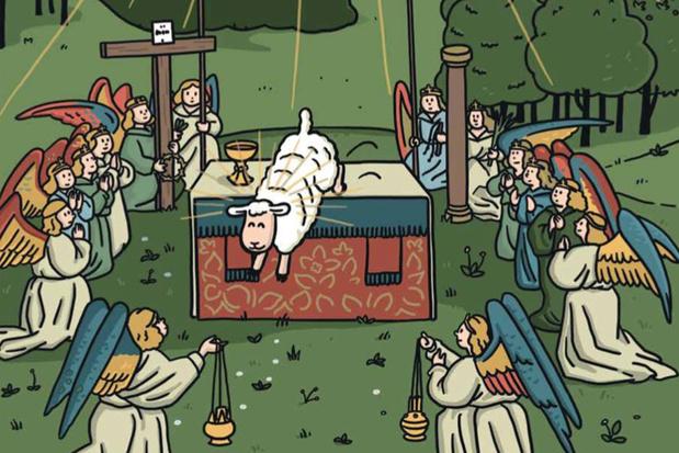 Tekenaar van 'Boerke' maakt strip over het Lam Gods