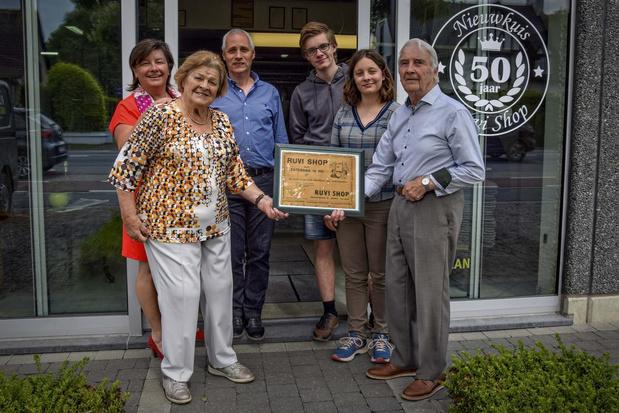 Nieuwkuisbedrijf Ruvi Shop bestaat vijftig jaar
