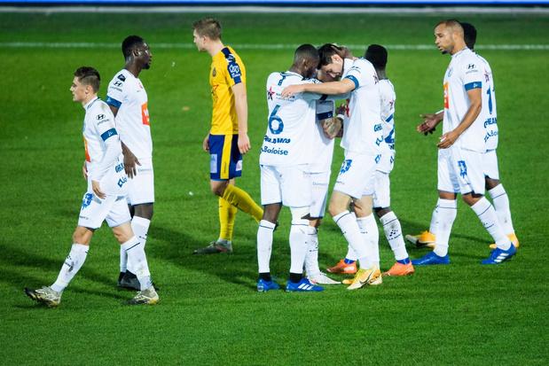 AA Gent klaart klus tegen Waasland-Beveren in de eerste helft