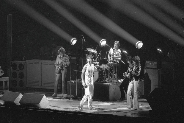 1973 ou quand une prestation des Stones à Bruxelles reste gravée dans un album live