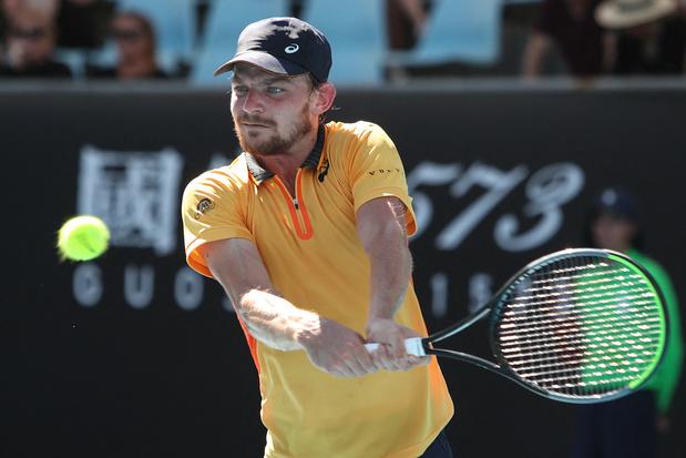 Verrassing in Australian Open: David Goffin uitgeschakeld