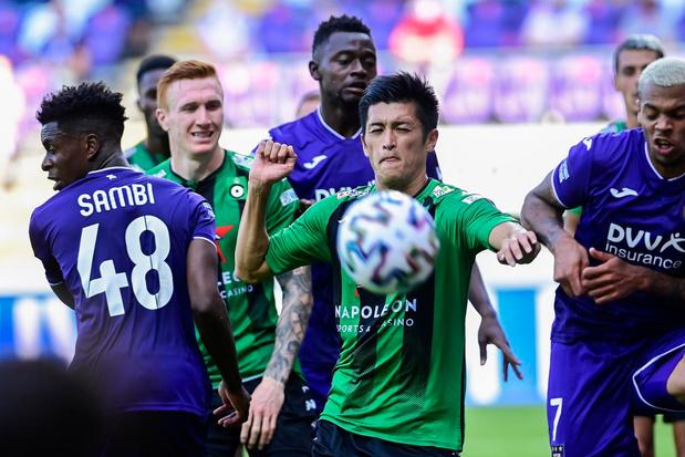Cercle Brugge met 2-0 onderuit bij Anderlecht
