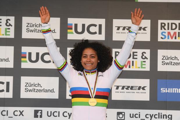 Alvarado sprint naar goud in Zwitserland, volledig Nederlands podium