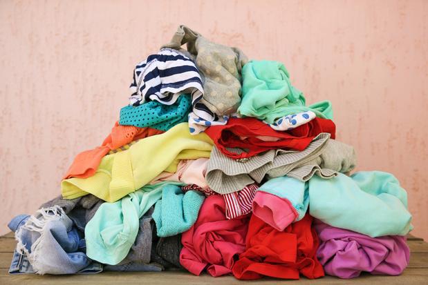 'Slechts 10 procent van wat er in onze kast hangt, dragen we regelmatig'