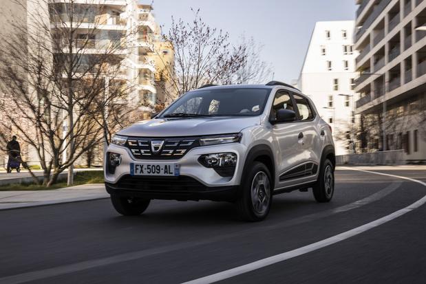 Dacia Spring, de goedkoopste elektrische auto