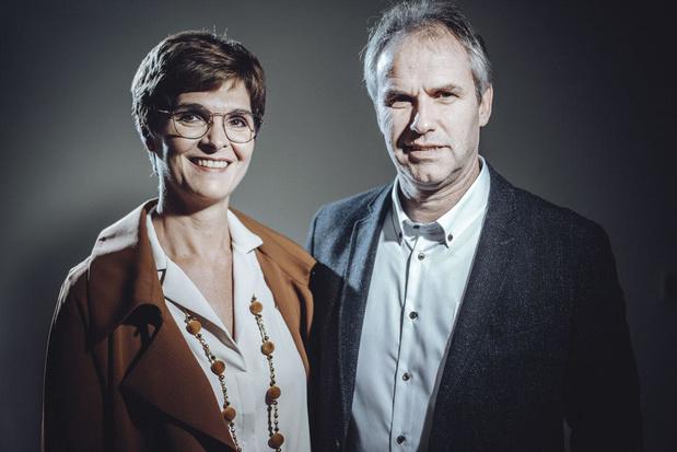 Els Paesmans en Koen Quaghebeur (Globachem): 'Wij willen ons virtueel standbeeld verdienen'