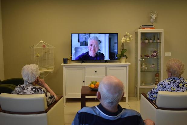 WZC Sint-Vincentius in Avelgem wordt overladen met filmpjes van bekende Vlamingen
