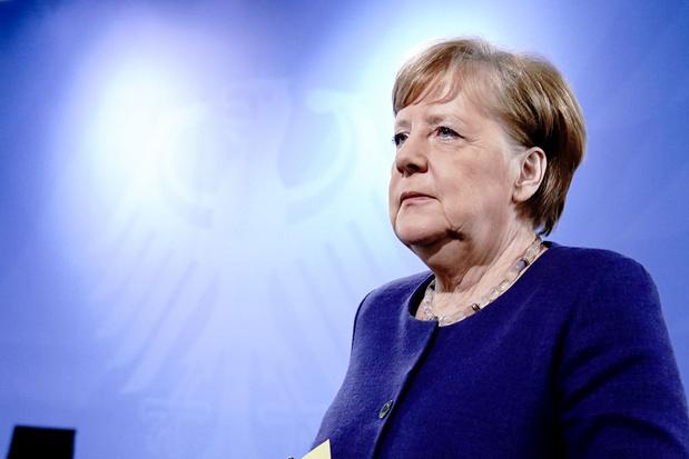 'Ook in het jaar van de grote financiële crisis hield Angela Merkel de boel bij elkaar'