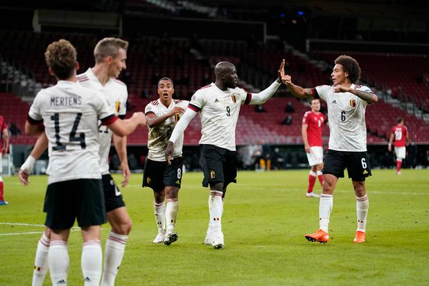 Rode Duivels spelen risicoloos professioneel tegen Denemarken