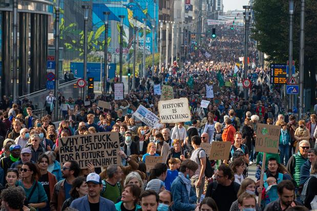 Tienduizenden betogers op straat voor het klimaat, nieuwe spijbelacties op komst