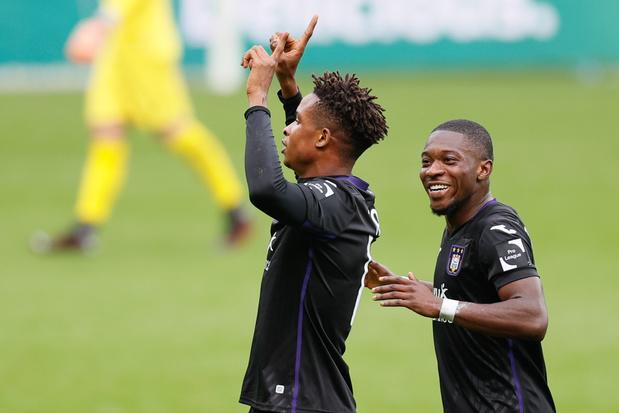 Anderlecht houdt drie punten thuis in topper tegen Antwerp