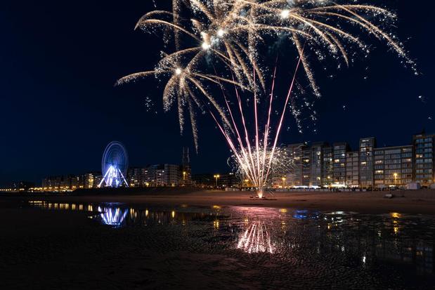 Wel vuurwerk voor nationale feestdag in Westende, maar niet diervriendelijk