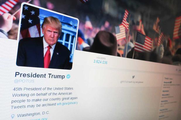 'Verbanning Donald Trump van Facebook en Twitter: er is geen verschil meer tussen online en offline'