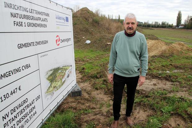 Nieuwe begraafplaats in Zwevegem-Knokke opent pas in najaar 2022