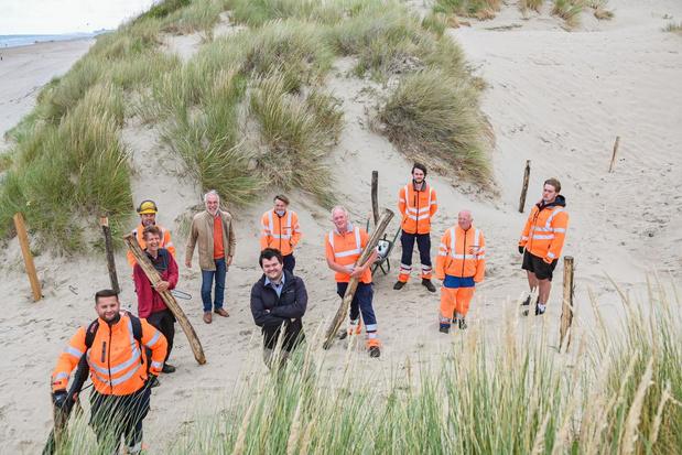 Nieuw pad leidt ruiters recht naar zee door Koksijdse duinen