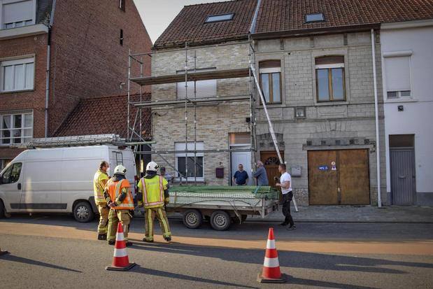 Woning dreigt in te storten, gezin met drie kinderen uit Kortrijk moet op zoek naar tijdelijke woonst