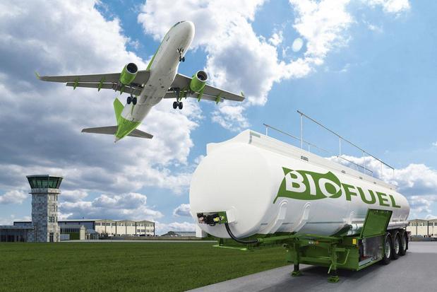 Groene brandstof maakt vliegen 8 procent duurder tegen 2050