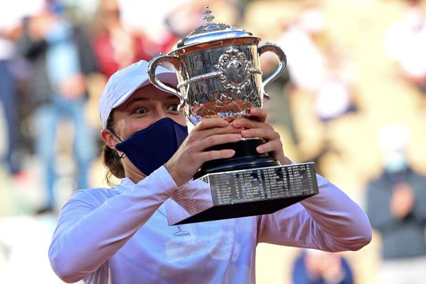 Tiener Iga Swiatek wint Roland Garros