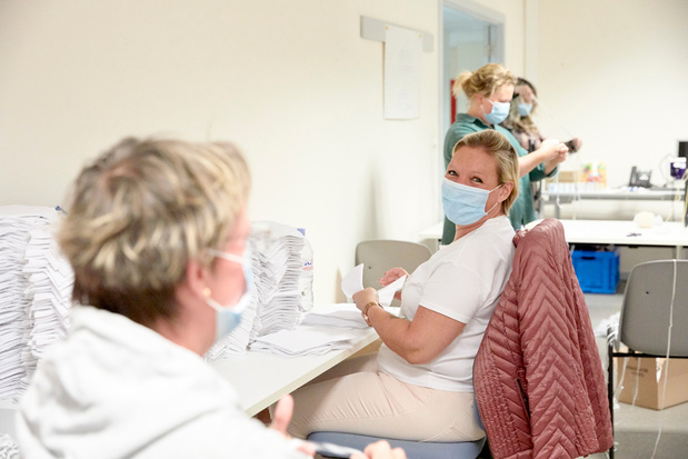 Gratis naaipakket voor mondmaskers bij Colruyt