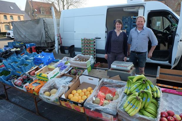 Nu ook markt op zaterdag in Sint-Pieters-Kapelle