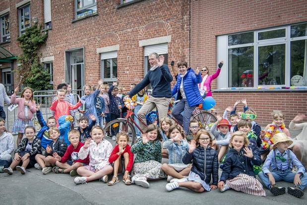 Koppel van Vrije Basisschool Oostnieuwkerke gaat samen met pensioen