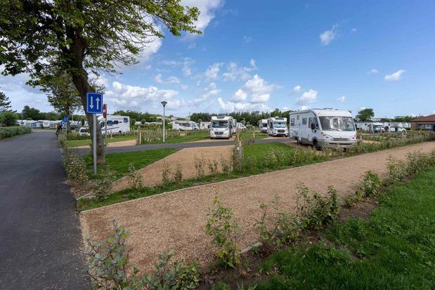 Westende krijgt 39 nieuwe camperplaatsen