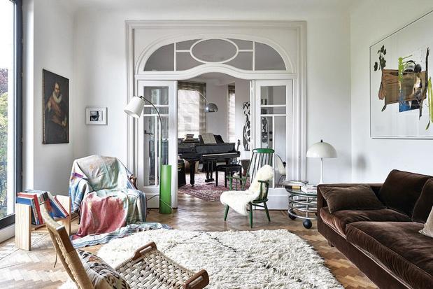Le fondateur de Base Design nous ouvre les portes de sa maison arty avec vue panoramique sur Bruxelles