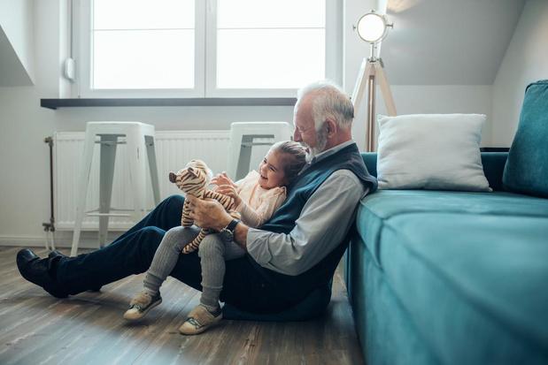 52% van grootouders woont op minder dan 5 km van kleinkinderen