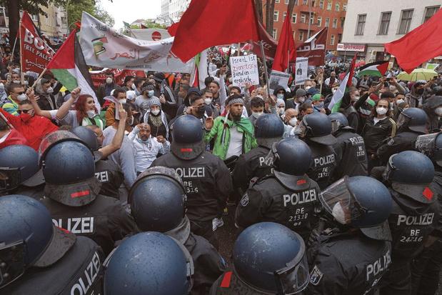 Conflit israélo-palestinien: entre-deux délicat en Allemagne