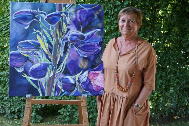 """Marie-Jeanne Van Hove: """"Coronacrisis geeft mijn schilderijen nog meer kracht"""""""