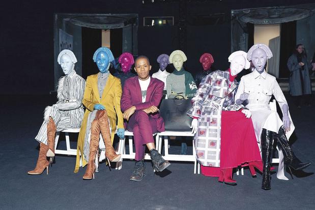 """Thebe Magugu, gagnant du prix LVMH: """"J'ai ma propre culture, mais une vision mondiale"""""""
