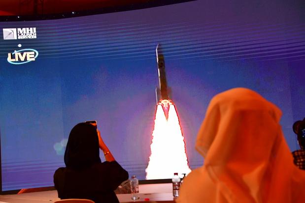 Eerste Arabische Marsmissie succesvol gelanceerd