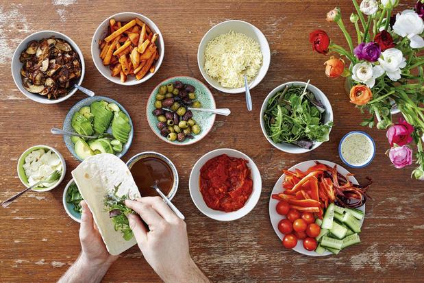 Evenwichtige maaltijd : de juiste portie
