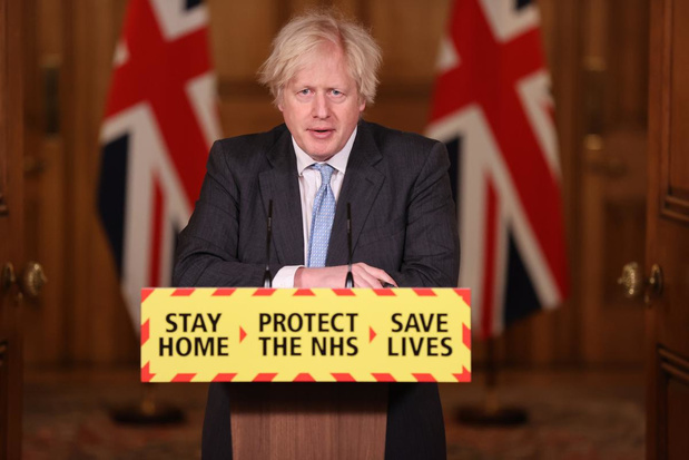 Boris Johnson confirme que plus de 13 millions de Britanniques ont été vaccinés !