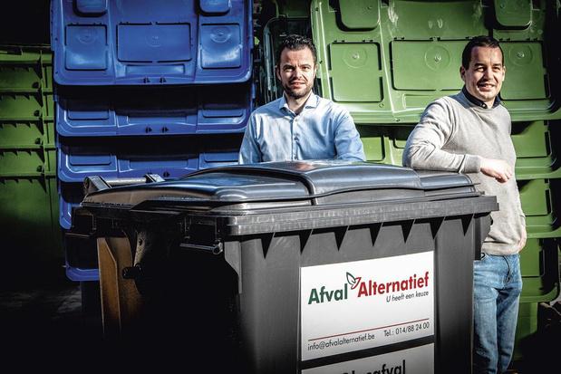 Antwerpse Ambassadeur 'kleine bedrijven': frisse wind in afvalophaling