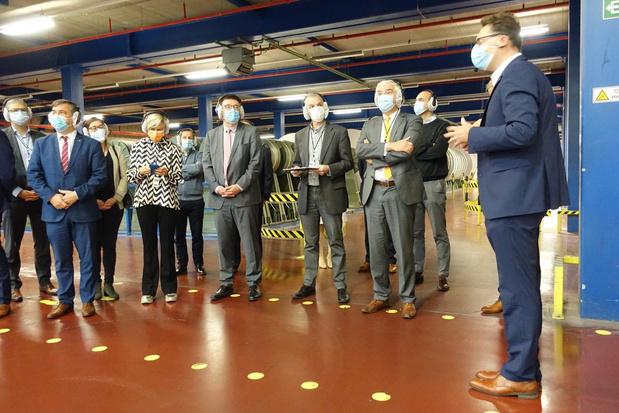 Vlaams minister Crevits opent Open Bedrijvendag in Roularta