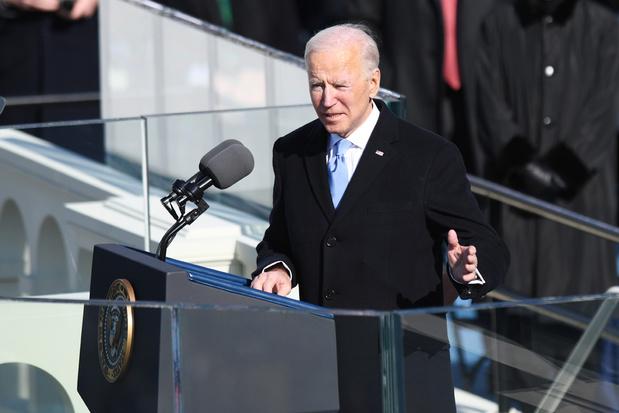 De eerste speech van president Biden: 'Niet elk meningsverschil moet aanleiding geven tot oorlog'