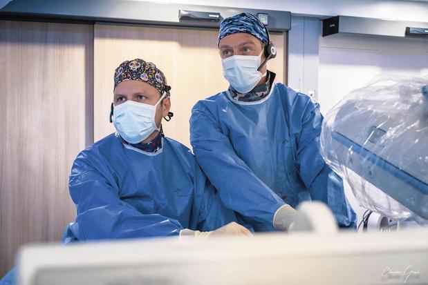 1er traitement intra-artériel d'une tumeur non opérable en Europe