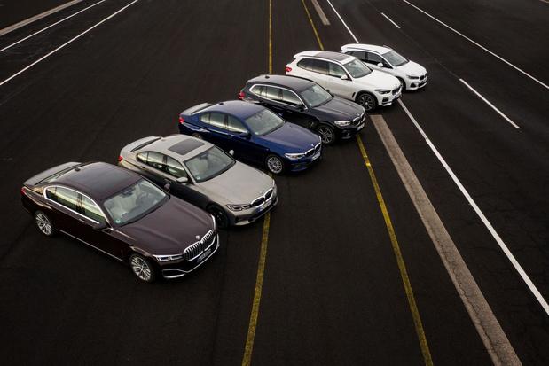 BMW: helft wagens deels elektrisch tegen 2030