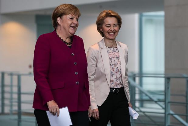 'Europa kan een stevig leiderschap gebruiken. Dat kan op dit moment alleen Merkel bieden'