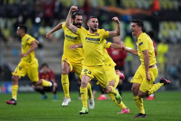 Villarreal wint Europa League na strafschoppenreeks tegen Manchester United