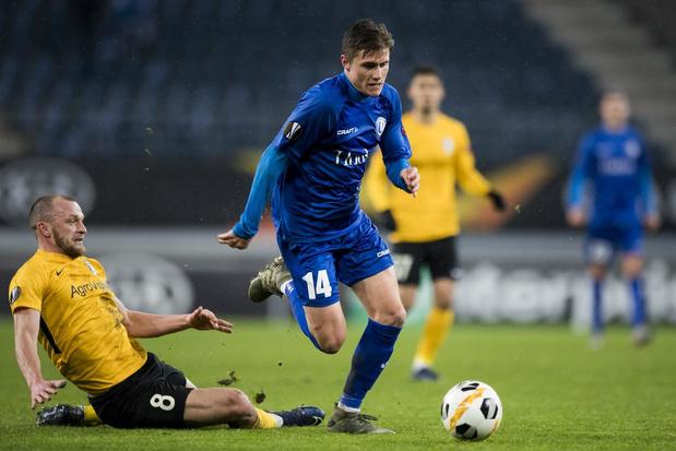 KAA Gent dankt succes ook aan oprukkende backs: 'De hele flank bestrijken, geeft een zalig gevoel'