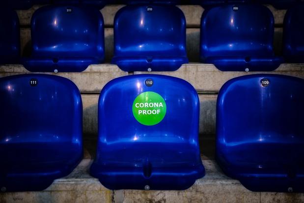 Zalen en stadions kunnen opnieuw meer bezoekers ontvangen