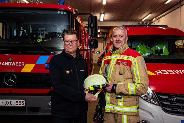 """Dirk Delameilleure is vanaf juni postoverste bij brandweer Lichtervelde: """"Een boeiende nieuwe uitdaging"""""""