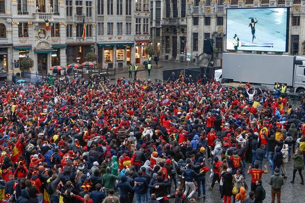 Brugge verbiedt bekerfinale op grote schermen