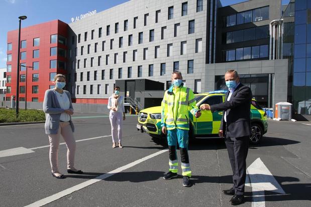 Nieuwe MUG-wagen AZ Damiaan in Oostende is paradepaardje van het ziekenhuis