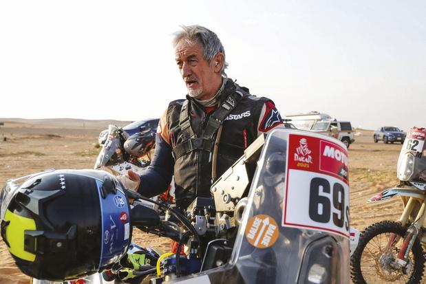 Vader Roelants rijdt de Dakar