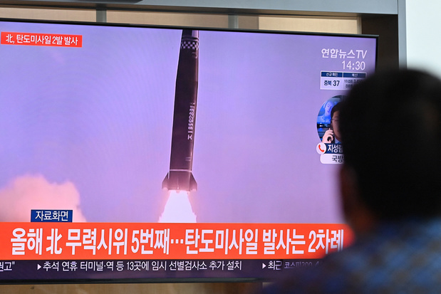 Noord- en Zuid-Korea vuren beiden ballistische raketten af