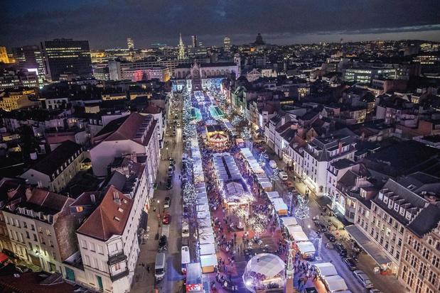 Déplaisirs d'Hiver: Bruxelles redoute l'annulation de son marché de Noël
