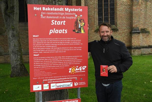 Zoek zelf je fietsroute en ontdek het Bakelandt Mysterie